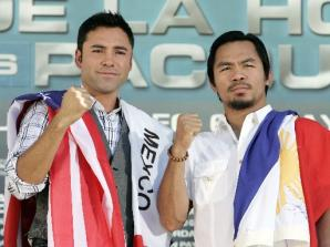 pacman-delahoya-press photo